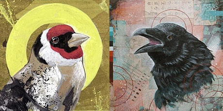Artist Mixer - Bird Portrait Painting tickets