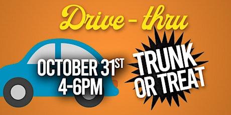 Trunk or Treat (Drive-Thru) tickets