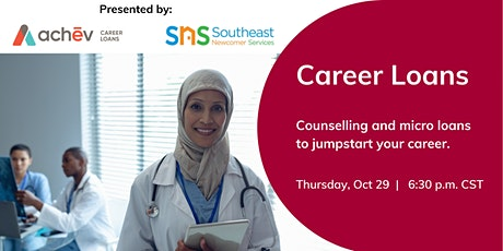 Counselling & Micro Loans to Jumpstart Your Career tickets
