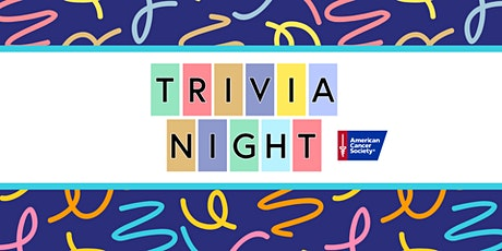 Trivia Night to Benefit the American Cancer Society tickets