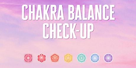 Chakra checkup + Aura reading for $15 (30 min. session) tickets