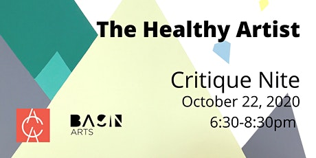 The Healthy Artist:  Critique Nite tickets