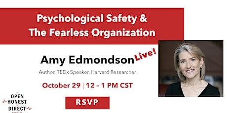 Live Podcast with Amy Edmondson (Author, TEDx Speaker, Harvard Researcher) tickets