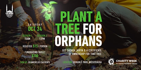 Plant a Tree for Orphans tickets