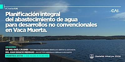 #CharlasCAI Planificación integral del abastecimiento de agua