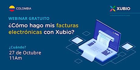 Webinar Colombia: ¿Cómo hago mis facturas electrónicas con Xubio? (II) entradas