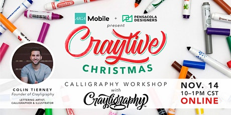 Craytive Christmas Calligraphy Workshop tickets