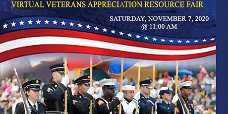 Virtual Veterans Appreciation  Resource Fair tickets