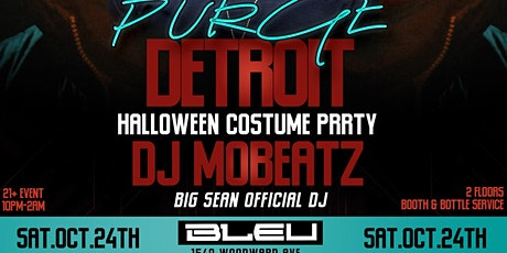 PURGE DETROIT: HALLOWEEN COSTUME PARTY tickets