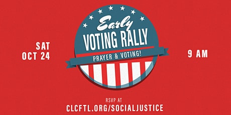 """Early Voting"" Rally tickets"