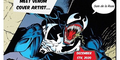 Meet Marvel Comics Venom Cover Artist Sam De La Rosa tickets