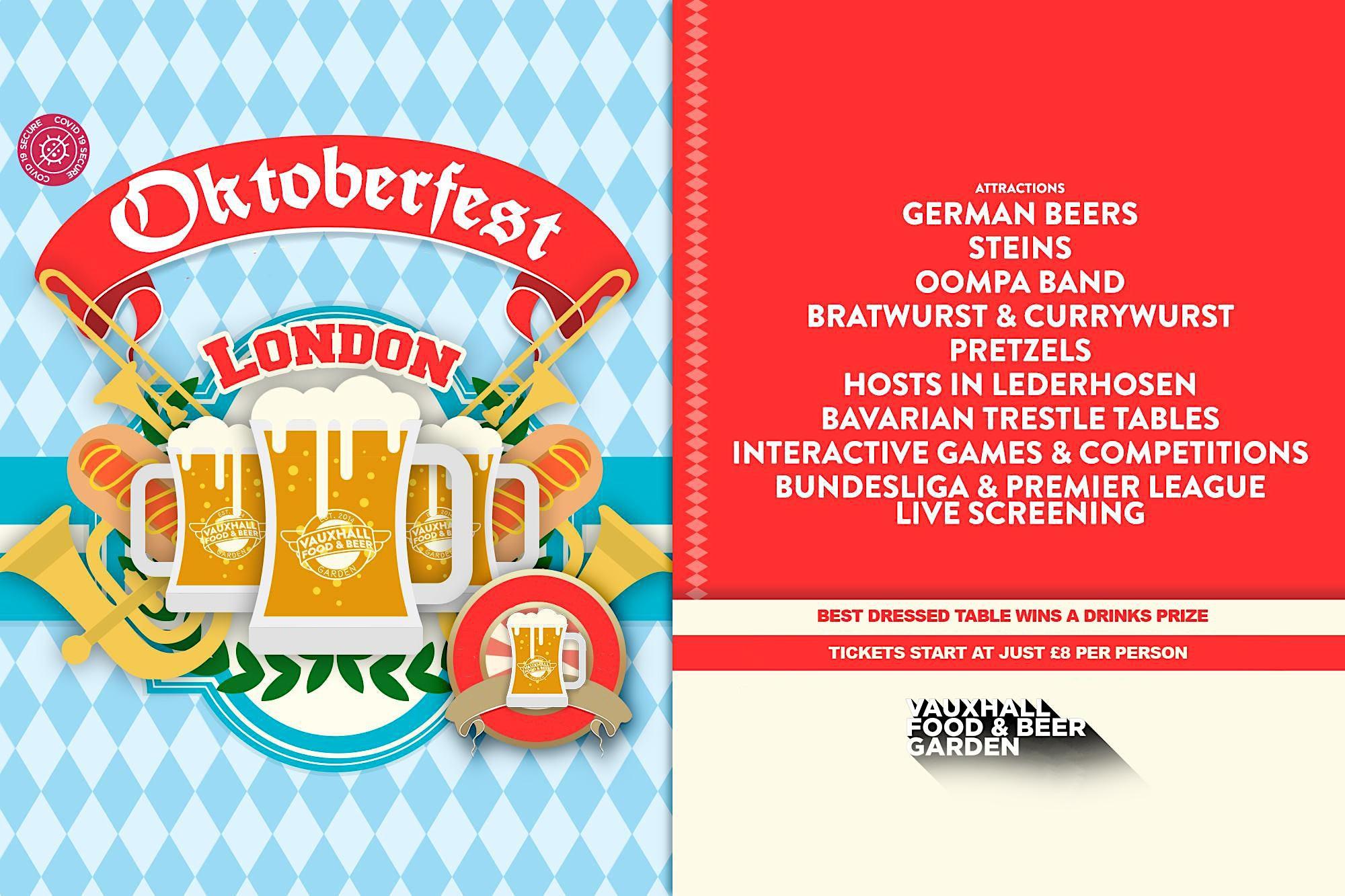 Oktoberfest London, 22 October | Event in London | AllEvents.in
