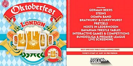 Oktoberfest London tickets