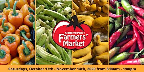 Shreveport Farmers' Market: Fall Season tickets