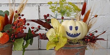Mini Pumpkin Pots Virtual Workshop tickets
