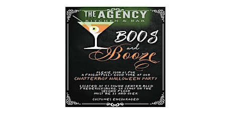 Boos and Booze Chatterbox Halloween Party tickets