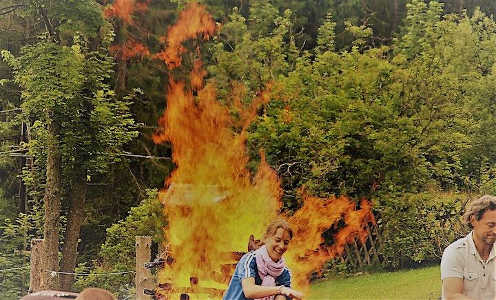 Kraft-Tankstelle Natur + Feuerlauf: Bild