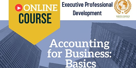 Accounting  for Business: Basics tickets