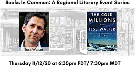 Books in Common NW: Jess Walter in Conversation with Sarah Vowell tickets