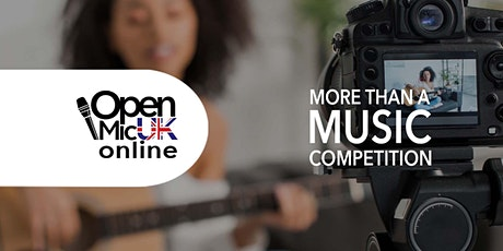 Open Mic UK Online Auditions tickets