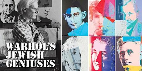 Warhol's Jewish Geniuses tickets
