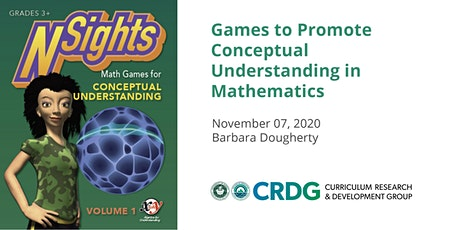 Games to Promote Conceptual Understanding in Mathematics tickets