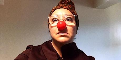 Saca tu clown a jugar entradas