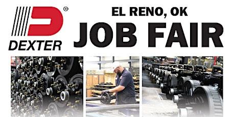Dexter Axle El Reno Job Fair tickets