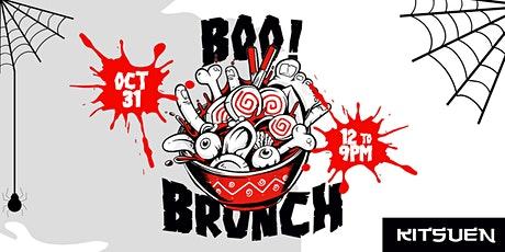 BOO BRUNCH! Halloween Brunch & Day Party At Kitsuen tickets