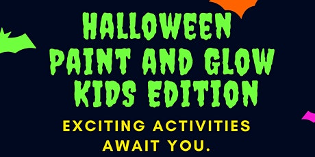 Halloween Paint and Glow Kids Edition tickets