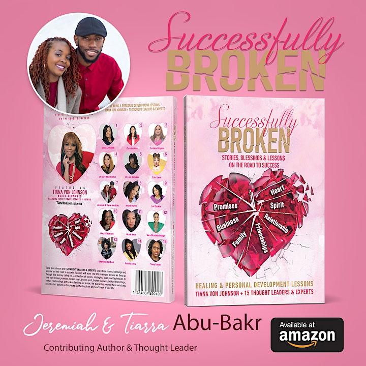 Successfully Broken Virtual Book Launch image