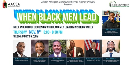 When Black Men Lead tickets