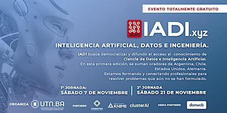 IADI 2020| Inteligencia Artificial, Datos e ingeniería (UTN.BA) entradas