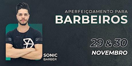 Curso de Aperfeiçoamento para Barbeiros ingressos