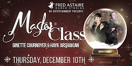 Holiday Star Ball Master Class tickets
