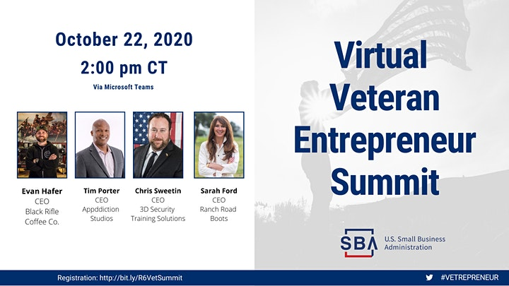 Virtual Veteran Entrepreneur Summit image