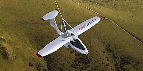 ICON Aircraft-Trayectoria de Diseño, Producción y Fabricación en compuestos tickets