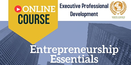 Entrepreneurship Essentials tickets
