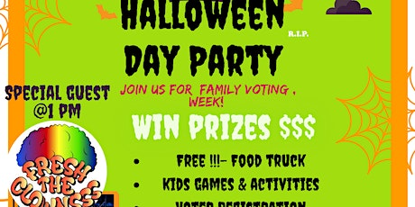 Halloween Day Party (Family) tickets