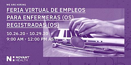 Novant Health RN Virtual Career Fair - Puerto Rico! tickets
