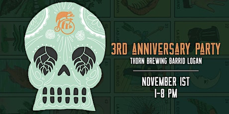 Thorn Brewing 3rd Anniversary Party tickets