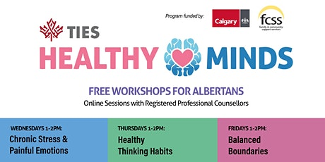 Healthy Minds Workshops tickets