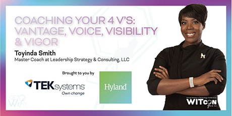 Coaching Your 4V's: Vantage, Voice, Visibility & Vigor tickets