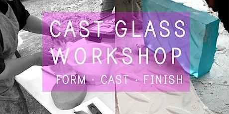 Cast Glass Workshop | Taster Session tickets