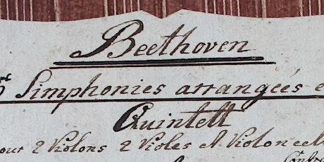 Beethoven  Manuscript Quintet Workshop tickets