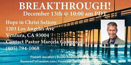 Breakthrough in Ventura, CA tickets