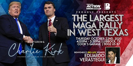 Charlie Kirk's, West Texas MAGA Rally Event! tickets