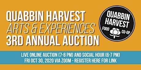 Quabbin Harvest 2020 Auction tickets