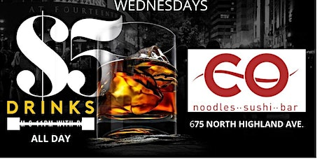 Sip and Chill Happy Hour Wednesdays @ CO tickets