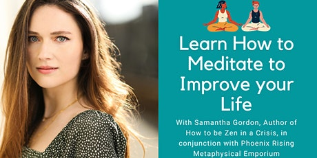 Meditation Course and Event: Learn how to meditate to improve your life tickets